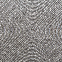 Jute braided home spiral rug background texture pattern