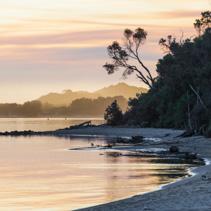 Sunset at Snowy River Estuary, Victoria, Australia