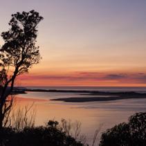 Sunrise at Snowy River, Marlo, Victoria, Australia