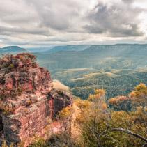 Blue Mountains of Australia