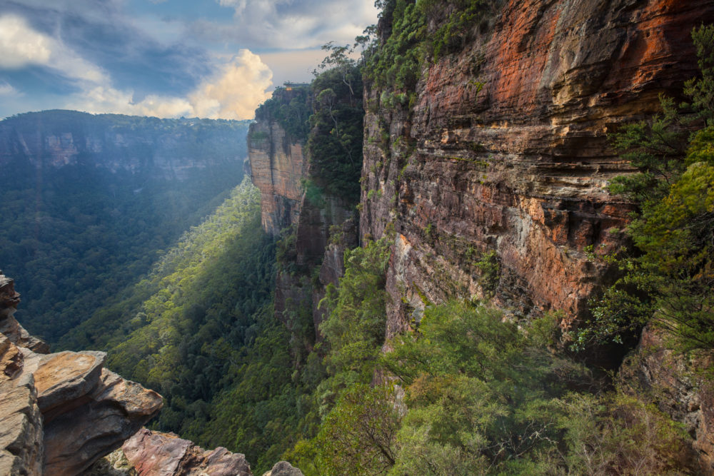 Blue Mountains of Australia