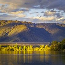 Lake Eildon at sunset, Victoria, Australia