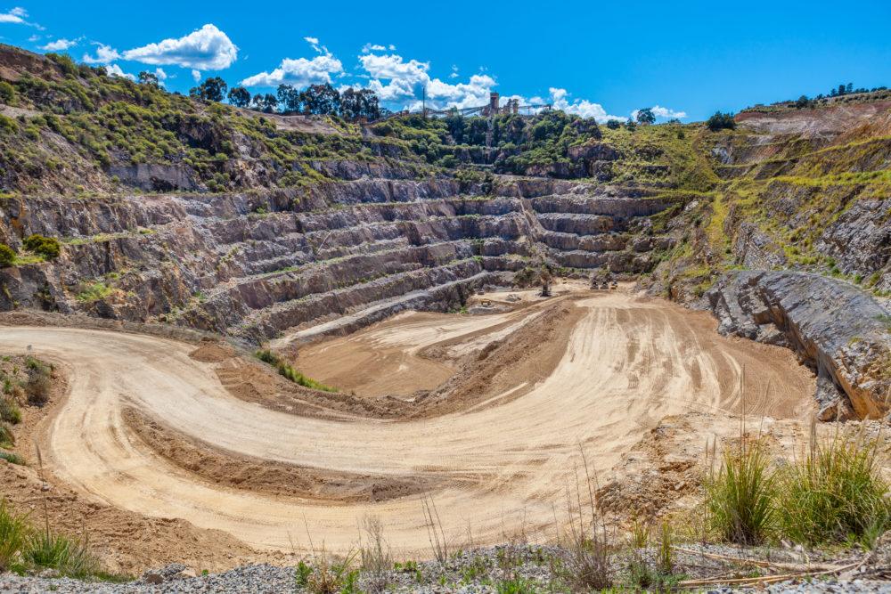 Old limestone mine in Lilydale, Melbourne, Australia