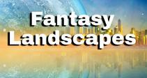 Fantasy landscape by Greg Brave