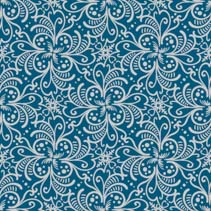 Abstract stylized flowers with leafs hand drawn seamless pattern