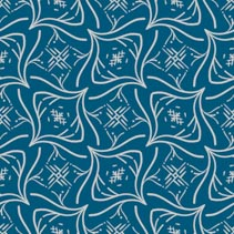 Abstract intricate shapes hand drawn seamless pattern