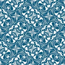 Abstract seamless hand drawn pattern